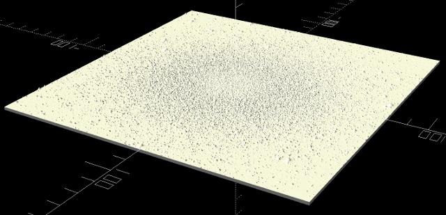 Obrázek hvězdokupy M13 - snížený reliéf hvězd.