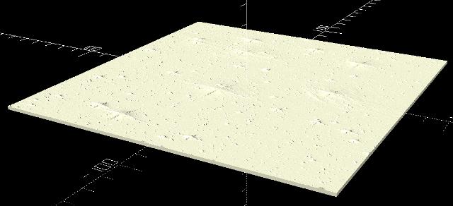Obrázek reliéfu hvězdokupy M45 s podložkou