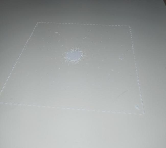 Tactile graphics on heat-sensitive paper using laser - spherical star cluster M13